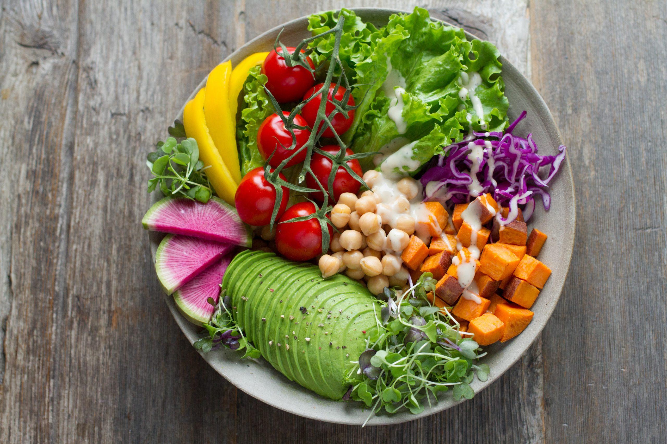 西醫如何調理PMS配圖:營養食物盤
