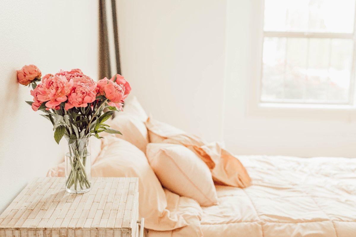 流產後應好好休息-乾淨舒適的床鋪