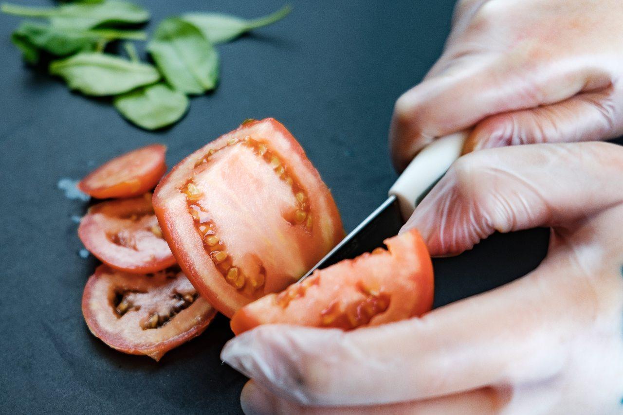 血虛可補充番茄配圖:切番茄