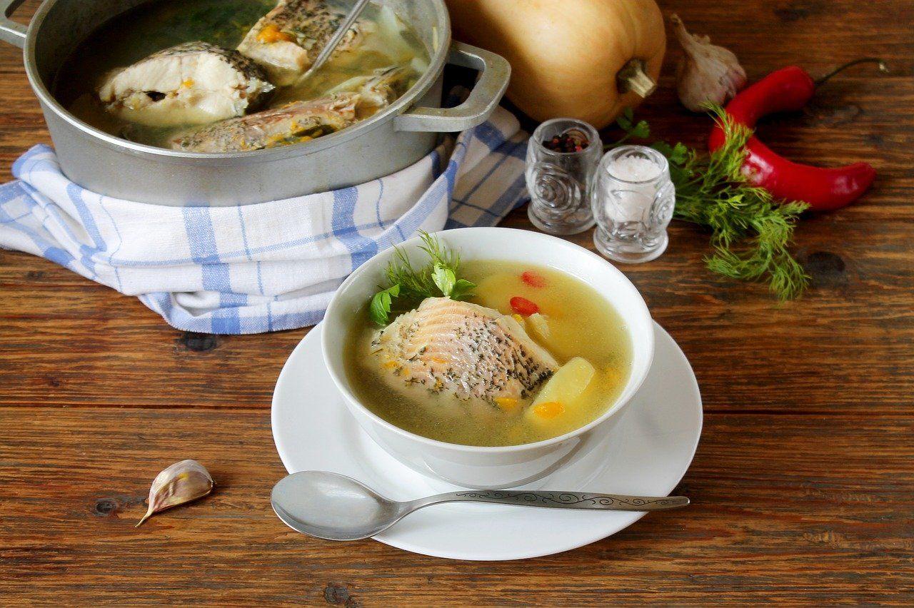 鱸魚精-小產手術後的好選擇配圖:魚湯