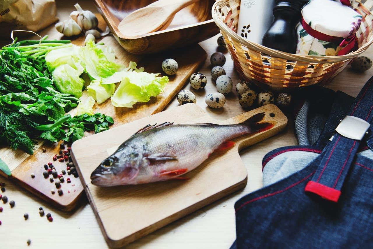 鱸魚精傷口修復更快速配圖:一隻魚
