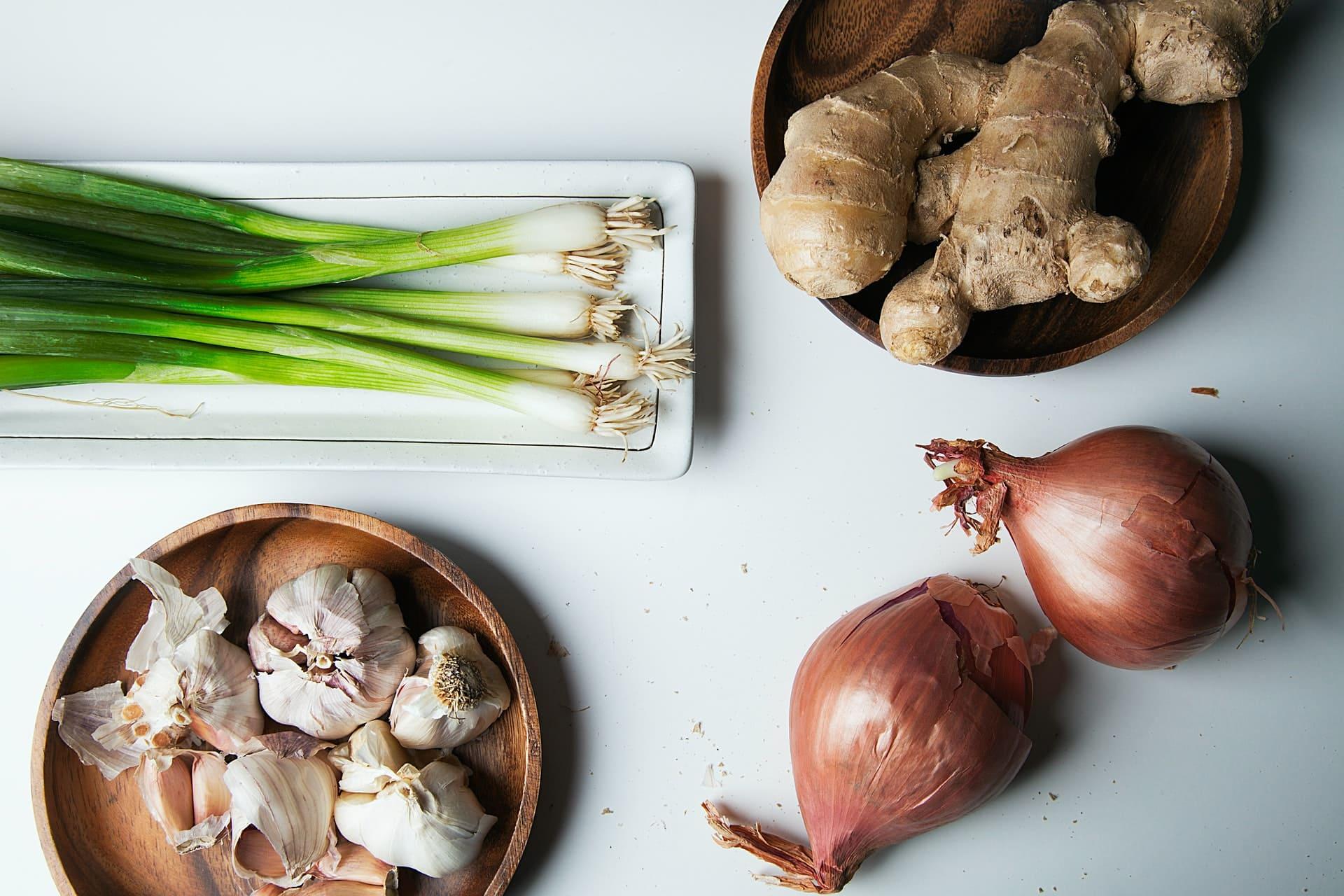 藥食同源食物正確、適量服用,絕對是有益配圖:蔥、大蒜、洋蔥